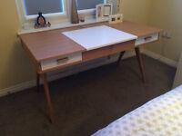 Dressing Table. Stroller Desk. Office Desk from MADE. Contemporary Design. Oak.