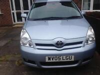 Toyota Corolla Verso 7 Seater Blue 1.8L petrol 2005 5 Door Hatchback £1295 ono