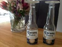 Corona bottle glasses