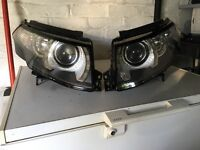 Continental headlights for Range Rover Evoque.