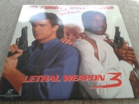 2 LASER DISCS: LETHAL WEAPON 3 AND FOOLS RUSH IN WITH MATHEW PERRY £5 EACH OR £8 THE PAIR.
