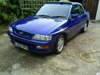 Ford Escort convertible Si, XR3i only 34k miles on the clock.