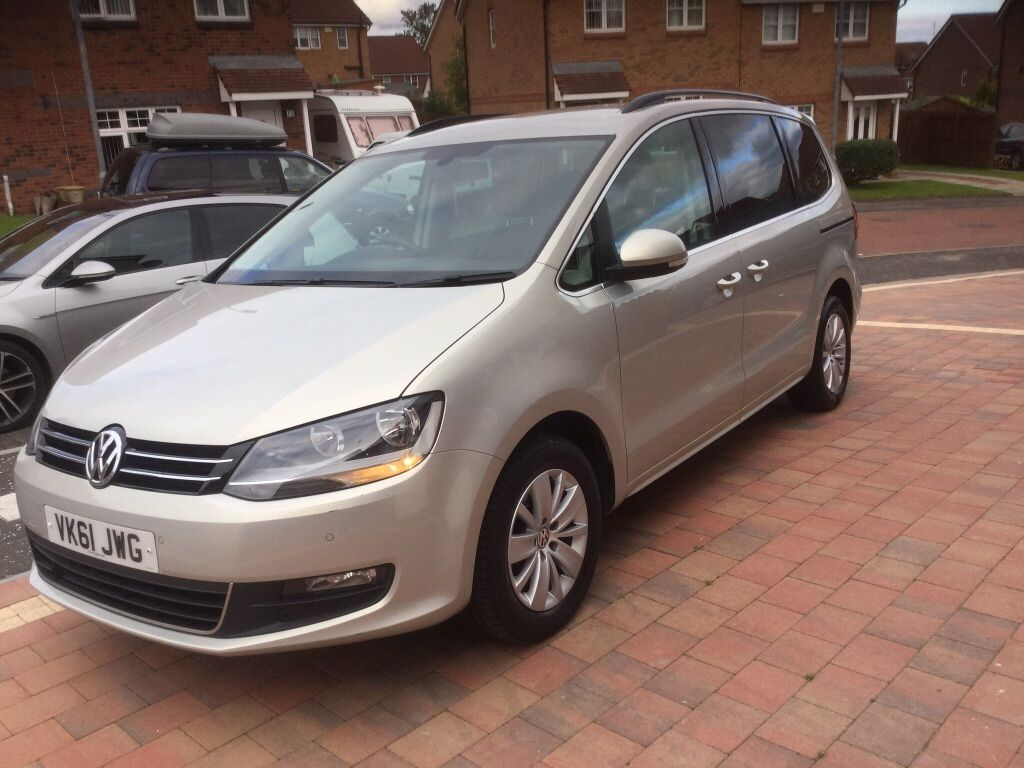 vw sharan dsg 7 seater 2011 automatic in pollok glasgow gumtree. Black Bedroom Furniture Sets. Home Design Ideas
