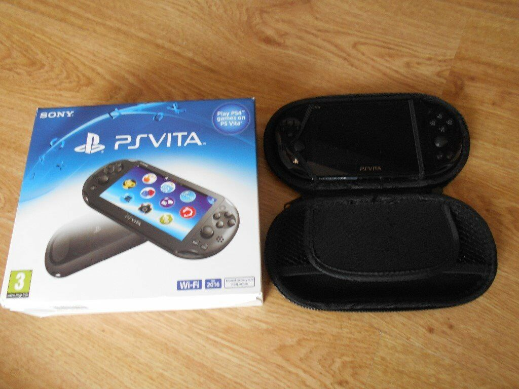 Ps Vita Slimline Console Comes With Box And Charger In Hull East Yorkshire Gumtree