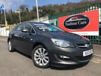 2013 (13 reg) Vauxhall Astra 1.6 i VVT 16v SE 5dr Hatchback Petrol 5 Speed Manual