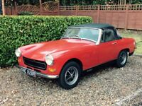 MG Midget Winter Bargain