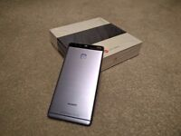 Huawei P9 Blue Vision Edition - Like New & Factory Unlocked with Extras