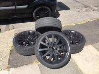 "Ford Fiesta ST 17"" Alloy Wheels / Matte Black / MK6 / MK7 / Zetec S / ST"