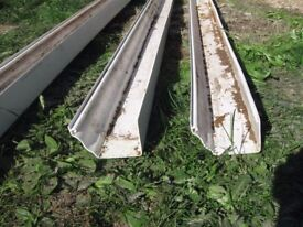 lengths of guttering and some fittings