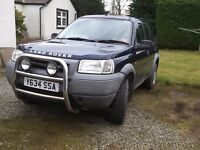 2001 Landrover Freelander 2.0 TD4 S Manual. Recently and Regularly serviced, 11 months MOT.