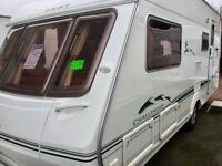 2004 Swift Challenger 520 SE (Side Dinette, End Washroom)