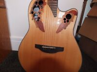 Ovation C-44 accustic guitar