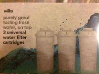 3 universal water filter cartridges