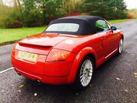 AUDI TT CONVERTIBLE 225BHP FULL MOT FLL SERVICE HISTORY 2 KEYS SPORTS ALLOYS
