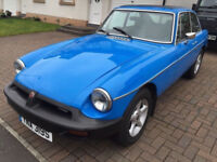 1978 MGB GT 1.8, WEBASTO ROOF & OVERDRIVE, CLASSIC, ONLY 21000 MILES