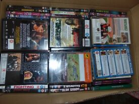 Approx 300 DVDs mostly origiinals very few copys