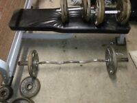For sale : Olympic gym and weights