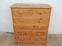 Chunky pine tallboy (Delivery)