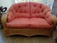 Conservatory 2 x 2 seater sofas