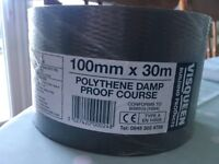 polythene damp proof course