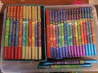 Beast Quest books 2-42 + card book + 2