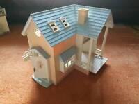 Sylvianian families riverside lodge starter house