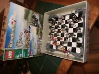 this is a lego chess set in pristine condition
