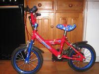 A Pedal Pals Rocket Child's bike