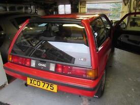Honda Civic 1985 GT , Classic, Rare Car in Exec Condition