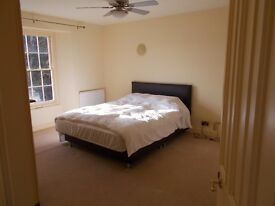 Double room with own bathroom Equine Stables also available large modern house with full facilites