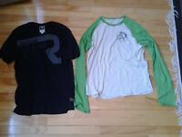 NEW DIESEL LONG SLEEVES SHIRT + G-STAR RAW SHIRT SIZE M/L