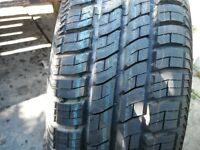 V W GOLF, 5 stud, et 38,6j x 14 inch new steel wheel,c/w new/as new 175/80/r14 continental new tyre