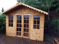 10x10 Summer Houses £1249.00 Heavy Duty, Free Delivery & Installation ALL SIZES AVAILABLE