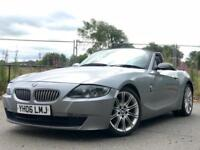BMW Z4 2.0 Sport Convertible E85 Grey 6 Speed Manual 2006 12 Months Mot P/X Roadster E89