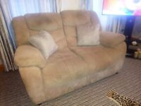 3+2 sofas excellent condition heavy cord no marks or rips pets and smoke free home needs gone asap