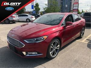 2017 Ford Fusion TITANIUM | CPO | 2.9% Finance | Leather | Navi