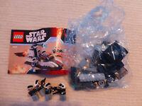 Lego Starwars 7668 Rebel Scout Speeder 100% complete