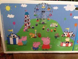 Peppa Pig Wallpaper Mural.