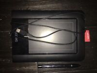 Wacom Bamboo USB Tablet - CTL-460 - pen included. (Used)