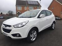2012 HYUNDAI IX35 1.6 DIESEL, 12 MONTH MOT, SERVICE HISTORY, HPI CLEAR, CRUISE, HEATED SEATS