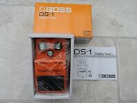 Boss DS 1 Guitar Distortion Pedal. (Unwanted Xmas present)