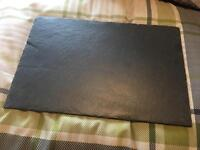 Wedding slate placemats