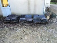 """Reclaimed roof slates 1000 -16""""x8"""" 40p each and 50 -20""""x10"""" 80p each. Cash on collection"""