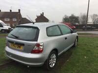 Honda Civic 1.4 petrol,manual,3 doors