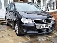(7 Seats) 2008 Volkswagen Touran 1.6 S 5dr Manual --- Part Exchange Welcome --- Drives Good