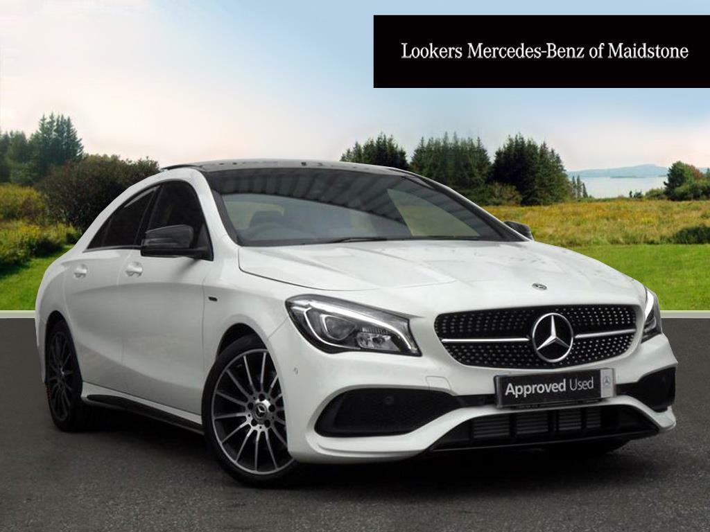 mercedes benz cla cla 220 d whiteart white 2017 06 08 in maidstone kent gumtree. Black Bedroom Furniture Sets. Home Design Ideas