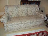 Three seater sofa / settee. Excellent condition, high quality.