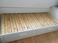 Ikea Brimnes Day Bed with 2 storage drawers