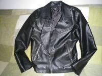 Boys Leather Type Jacket Age 9-10
