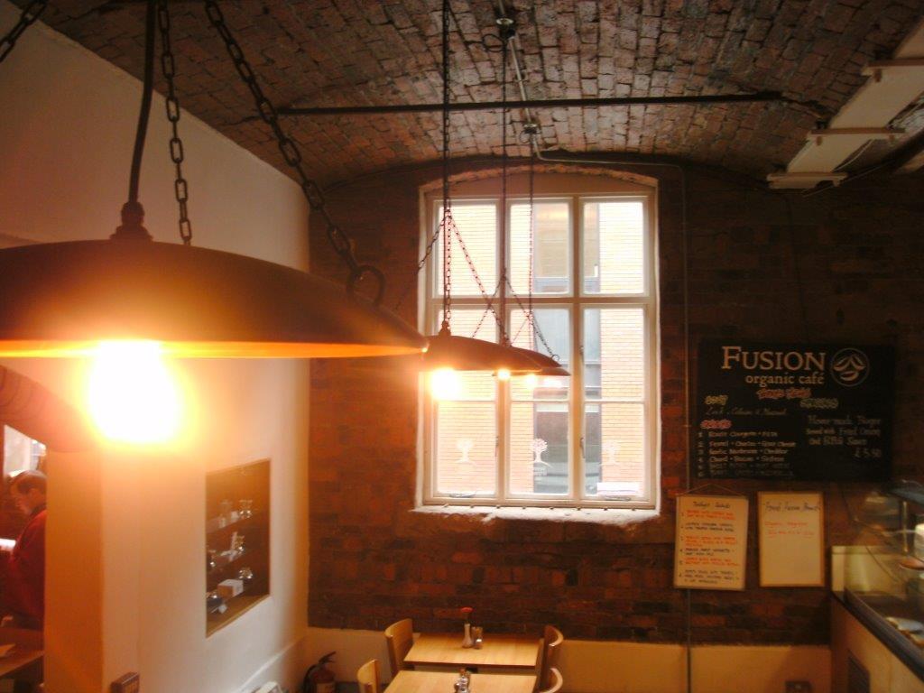 Bespoke copper lighting
